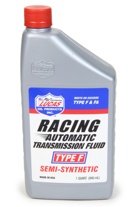 Lucas Oil 11020 Racing Type F Semi-Syn Transmission Fluid 1Qt