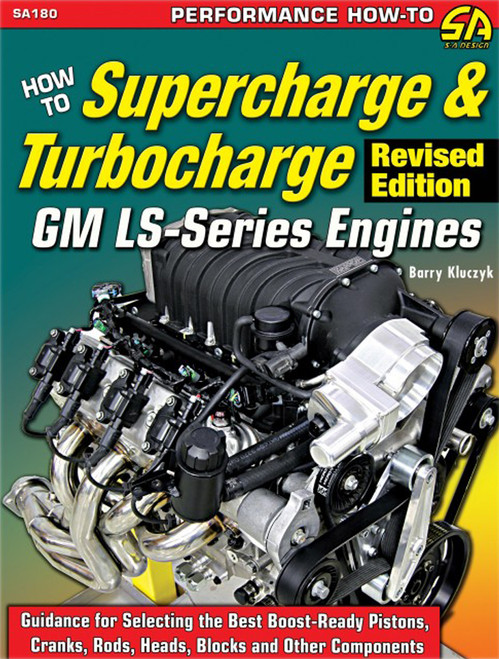 S-A Books SA180 How To Supercharge & Turbocharge LS Engines
