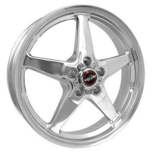 Race Star Industries 92-850145DP 92 Drag Star Polish 18x5 5x4.50BC 2.00BS