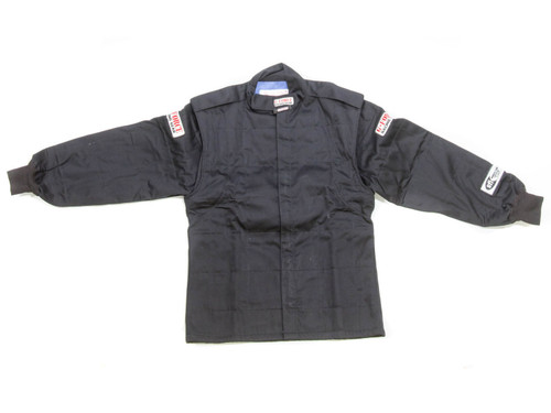 G-Force 4526XLGBK GF525 Jacket X-Large Black