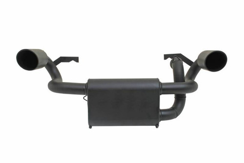 Gibson Exhaust 98024 Polaris UTV Dual Exhaust Black Ceramic