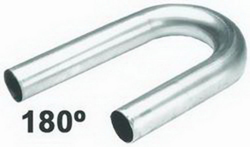 Hedman 12063 U-Bend Mild Steel 3.000 x 6in Radius 18 Gauge