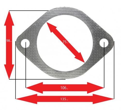 A'PEXi 199-A024 Muffler Accessories