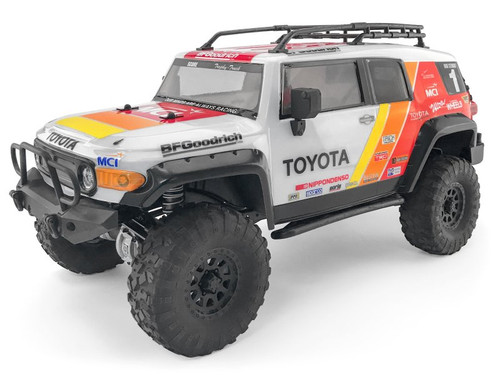 HPI Racing 117365 Toyota FJ Cruiser Clear Body For Venture Scale Truck