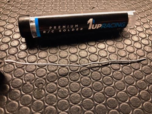 1UP Racing 190403 Premium R/C Solder - 12G Tube