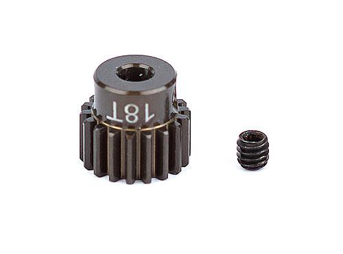 """Team Associated 1336 FT Aluminum Pinion Gear, 18T 48P, 1/8"""" shaft"""