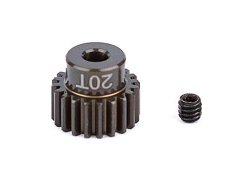 """Team Associated 1338 FT Aluminum Pinion Gear, 20T 48P, 1/8"""" shaft"""