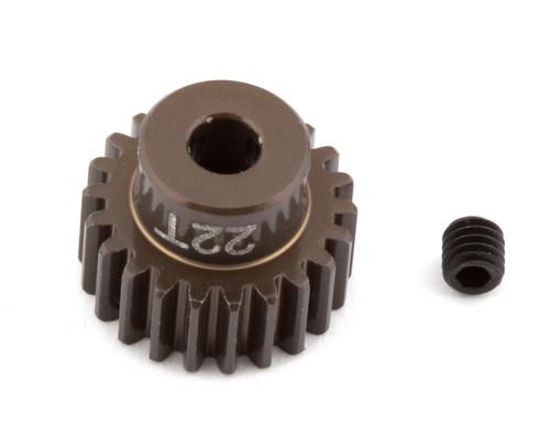 """Team Associated 1340 FT Aluminum Pinion Gear, 22T 48P, 1/8"""" shaft"""