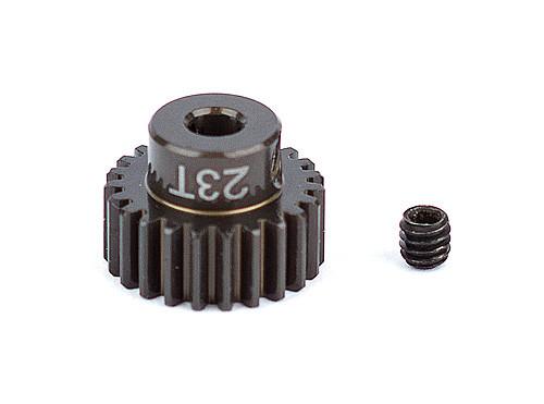 """Team Associated 1341 FT Aluminum Pinion Gear, 23T 48P, 1/8"""" shaft"""