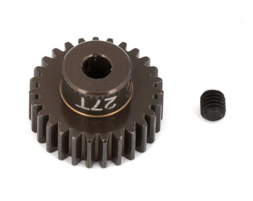 """Team Associated 1345 FT Aluminum Pinion Gear, 27T 48P, 1/8"""" shaft"""