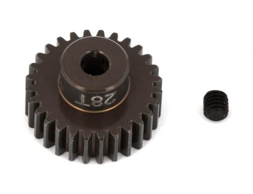 """Team Associated 1346 FT Aluminum Pinion Gear, 28T 48P, 1/8"""" shaft"""