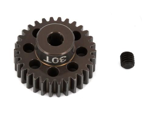 """Team Associated 1348 FT Aluminum Pinion Gear, 30T 48P, 1/8"""" shaft"""