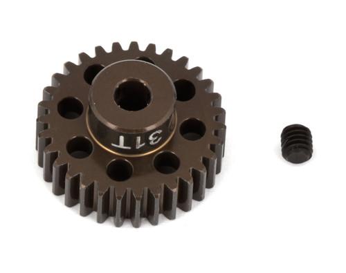 """Team Associated 1349 FT Aluminum Pinion Gear, 31T 48P, 1/8"""" shaft"""