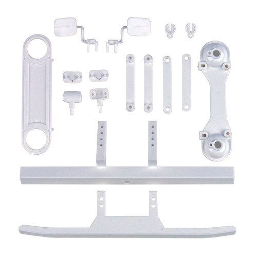 Team Associated 41065 CR12 Toyota FJ45 Bumpers and Body Accessories, White