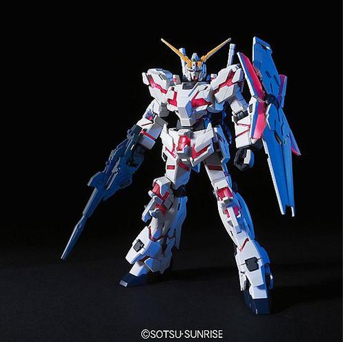 Bandai 5057399 1/144 HGUC RX-0 Unicorn Gundam (Destroy Mode)