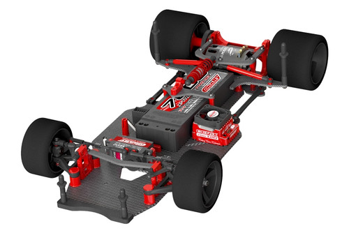 Corally 00110 1/10 SSX-10 Pan Car Chassis Kit (No Body, Tires, or