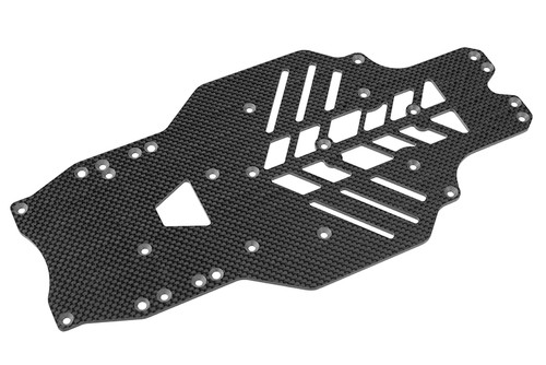Corally 00110-001 Chassis SSX-10 - Graphite 2.5mm - 1 pc