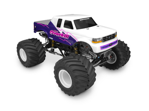 J Concepts 0326 1993 Ford F-250 super cab monster truck body w/racerback