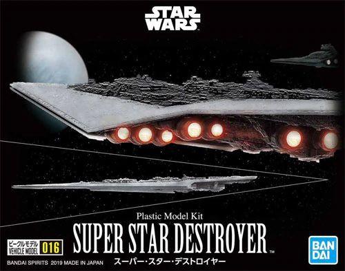 Bandai 5057711 016 Super Star Destroyer Vehicle Model