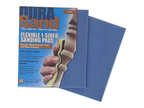 Durasand 24003 Blue High Flex Sanding Pads, 2pcs, Fine - 240 Grit