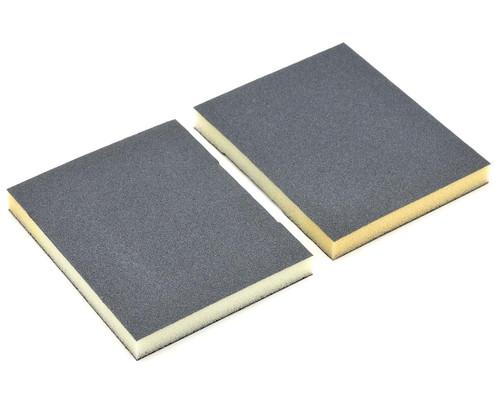 Durasand 25003 2-Sided Black Sanding Pads, 2pcs, Fine - 180 Grit