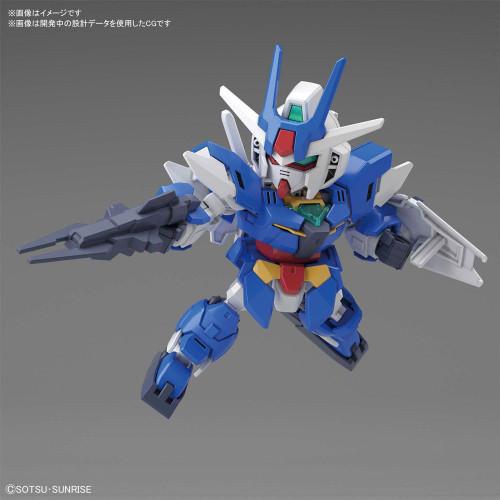 """Bandai 5059124 #15 Earthree Gundam """"Gundam Build Divers"""", Bandai Spirits"""