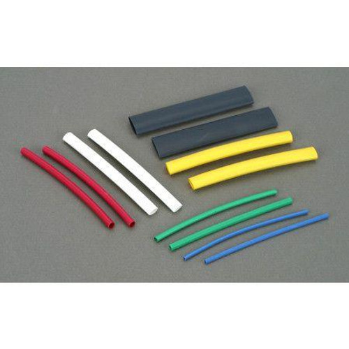Dubro 441 Assorted Heat Shrink Tubing 2 of each size/pkg