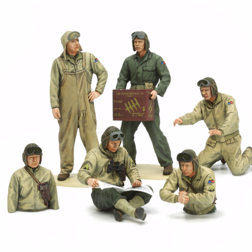 Tamiya 35347 1/35 US Tank Crew Set European Theater