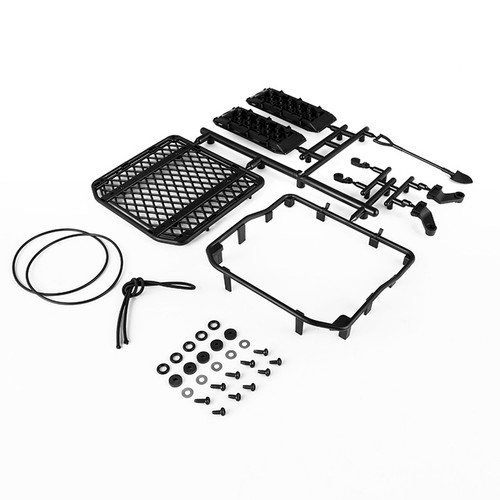 Gmade 40080 Gmade 1/10 Scale Off-road Roof Rack & Accessories