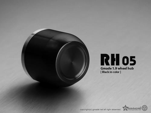 Gmade 70154 1.9 RH05 Wheel Hubs (Black) (4)