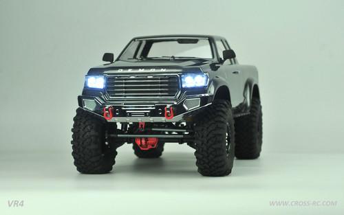 Cross RC VR4C VR4C 1/10 Demon 4x4 Crawler Kit - Lexan Body Full Metal,