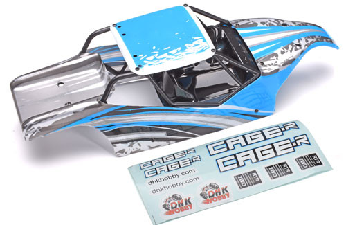 DHK Hobby 8142-001 Body, Printed/Decorated: Cage-R
