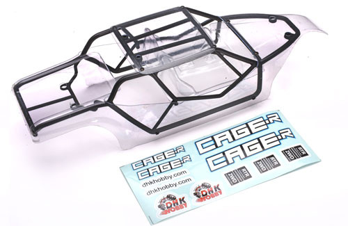 DHK Hobby 8142-002 Body, Clear: Cage-R