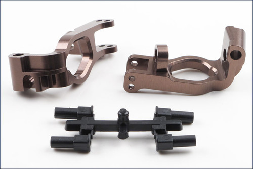 Kyosho IFW412 Aluminum Front Hub Carrier Set