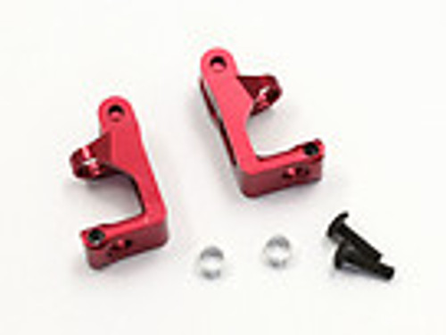 Kyosho MBW018R Aluminum Front Hub Carrier Red