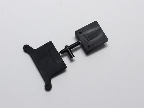 Kyosho UM787 ESC Plate and Battery Stopper - RT6