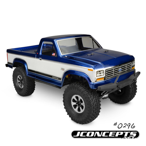 J Concepts 0296 1984 Ford F-150 Trailer/ Scaler Body