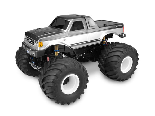 J Concepts 0302 1989 Ford F-250 Monster Truck Body w/Racerback