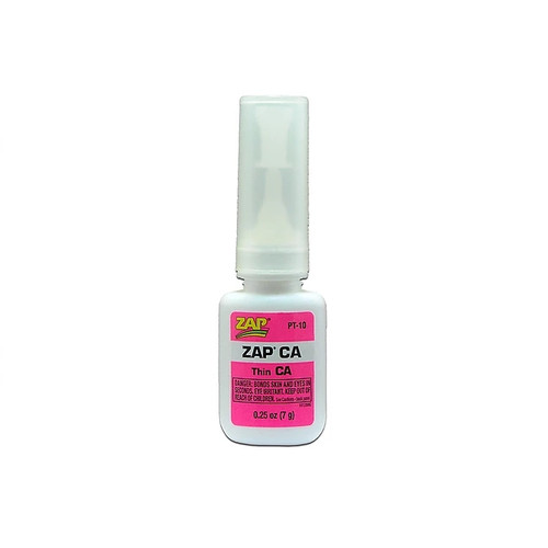 ZAP Glue PT-10 Zap CA Glue 1/4oz Bottle