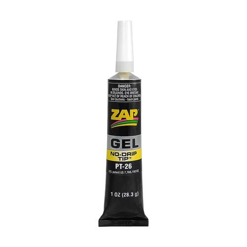 ZAP Glue PT-26 Zap Gel 20 gram Tube