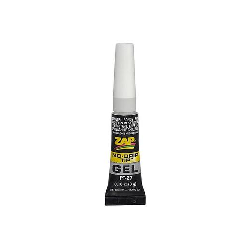 ZAP Glue PT-27 Zap Gel 3 gram Tube