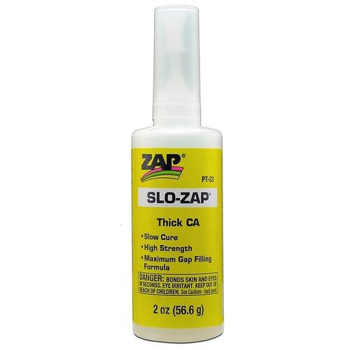 ZAP Glue PT-33 Slo-Zap (Thick) 2oz Bottle