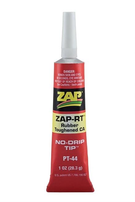 ZAP Glue PT-44 Zap-RT Rubber Toughened CA 1oz Tube