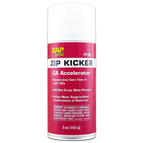 ZAP Glue PT-50 Zap Zip Kicker 5oz Aerosol