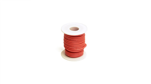Racers Edge 1202 14 Gauge Silicone Ultra-Flex Wire; 25' Spool (Red)