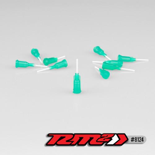 J Concepts 8124 Glue Tip Needles, Medium Bore Gree, (10pcs)