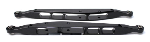 Racers Edge 1868BK 1/10 Yeti Aluminum Rear Lower Links (pr.) - Black