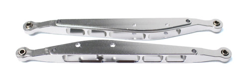 Racers Edge 1868S 1/10 Yeti Aluminum Rear Lower Links (pr.) - Silver
