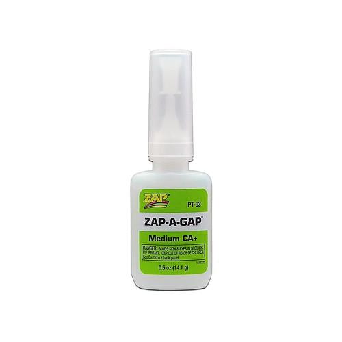 ZAP Glue PT-03 Zap-A-Gap CA+ Glue 1/2oz