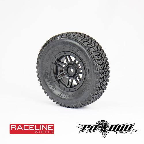 Pit Bull Tires PB9010NK PBX A/T Hardcore 1.9 Scale with Foam Alien Kompound